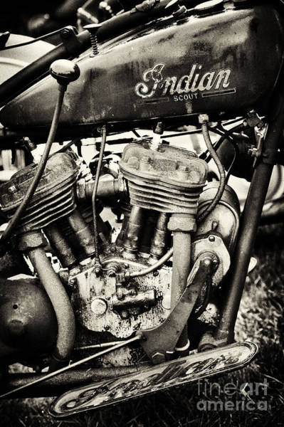 Wall Art - Photograph - Oily Old Indian by Tim Gainey