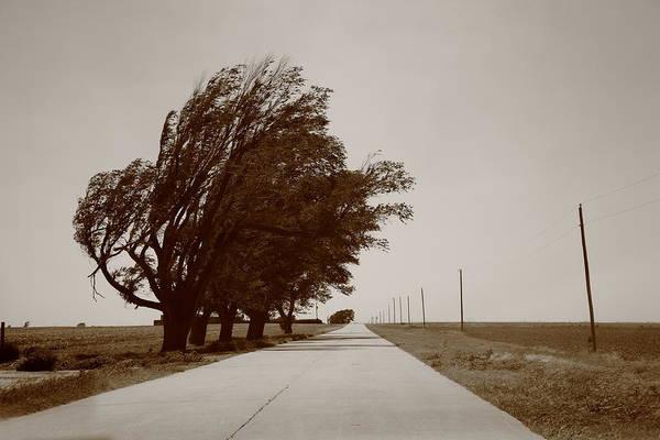 Photograph - Oklahoma Route 66 2012 Sepia. by Frank Romeo