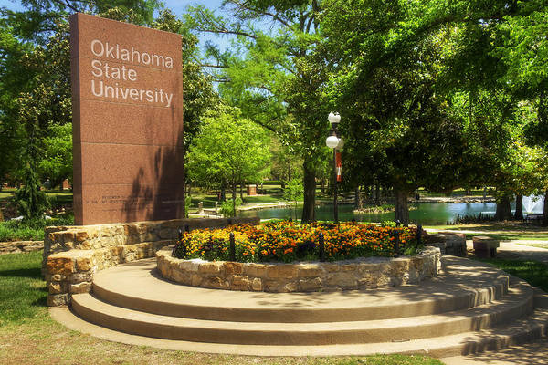 Garden State Wall Art - Photograph - Oklahoma State University by Ricky Barnard