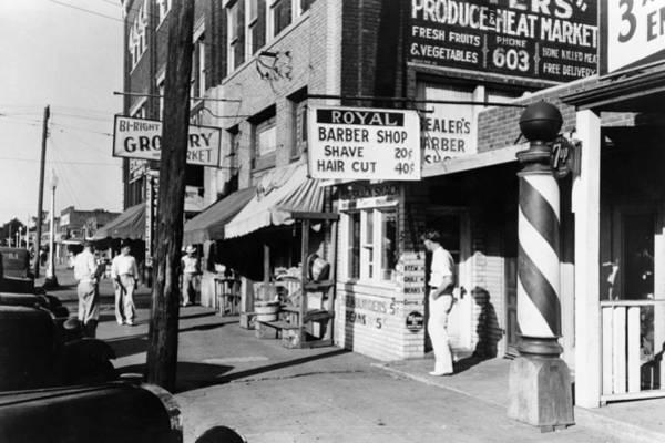 Muskogee Photograph - Oklahoma Street Scene by Granger