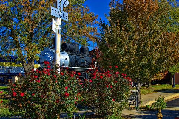 Photograph - Okmulgee Northern Train by Tim McCullough