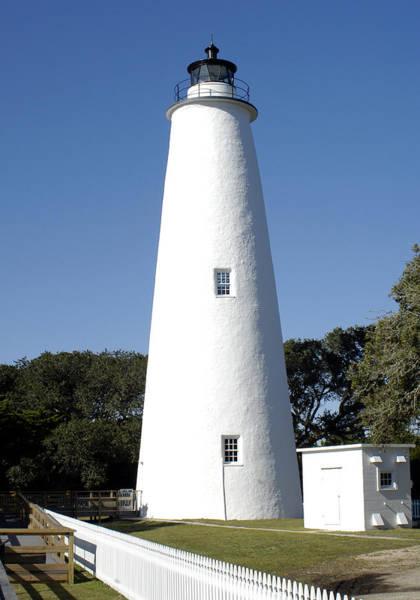 Ocracoke Lighthouse Photograph - Ocracoke Lighthouse by Jackie Lambert