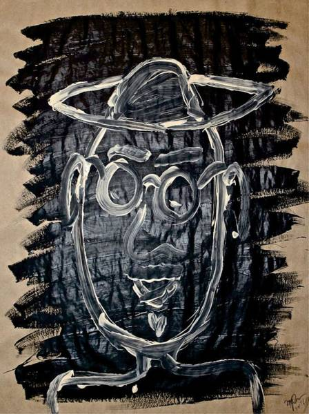 Painting - Ol' Groucho by Mario MJ Perron