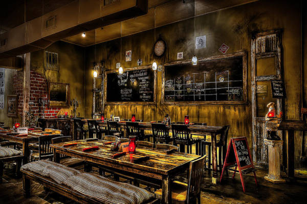 Photograph - Ol Railroad Cafe by David Morefield