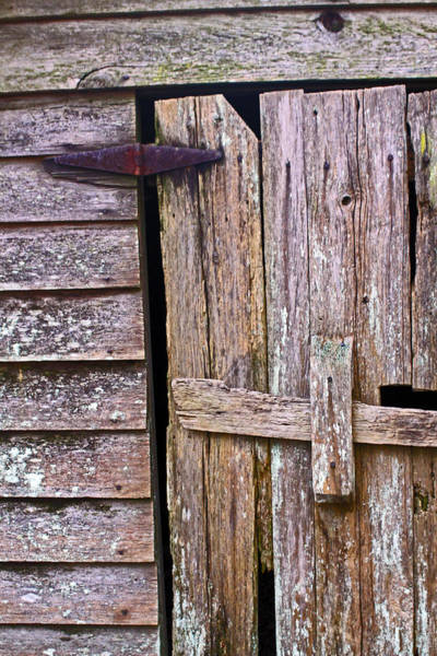 Photograph - Ol' Root Cellar Door by Jennifer Robin