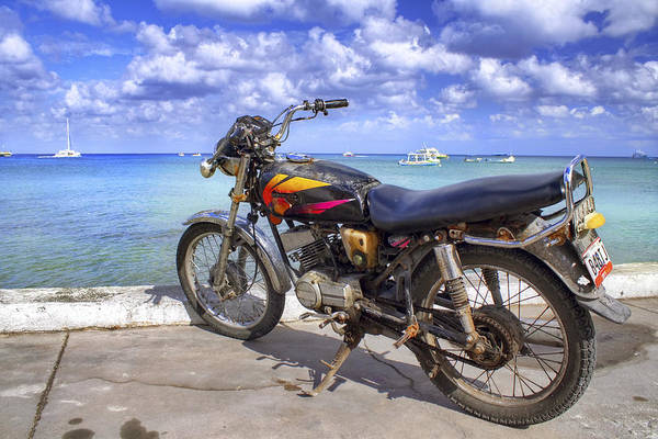 Photograph - Ol' Rusty In The Caribbean by Jason Politte