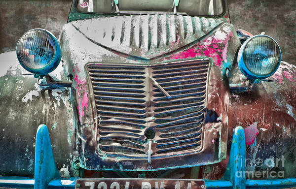 Wall Art - Photograph - Old 2cv by Delphimages Photo Creations