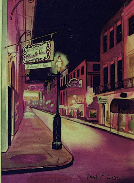 Painting - Old Absinthe House New Orleans by Frank Hunter