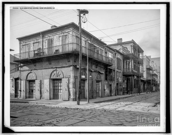 Photograph - Old Absinthe House by Russell Brown