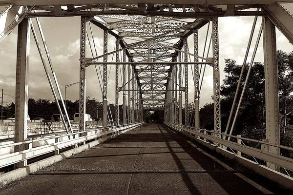 Photograph - Old Anasco Iron Bridge by Ricardo J Ruiz de Porras
