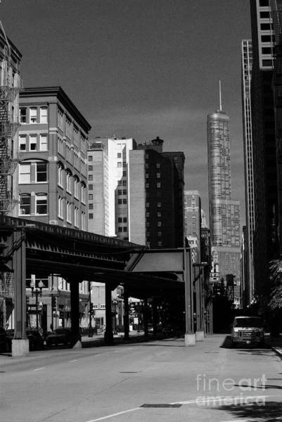 Photograph - Old And New Chicago by Frank J Casella