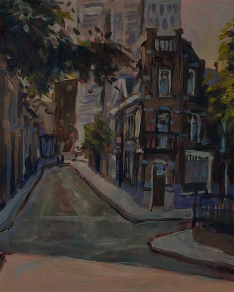 Old And New Noordstraat Tilburg Art Print