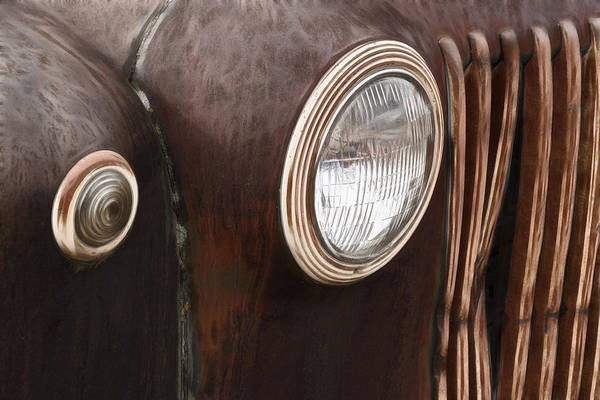Wrecking Yard Photograph - Old And Rusty by Wes and Dotty Weber