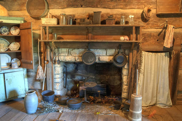 Wall Art - Photograph - Old Appalpachian Kitchen by Paul W Faust -  Impressions of Light