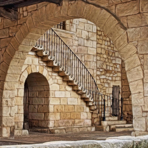 Photograph - Old Archway by Wes and Dotty Weber