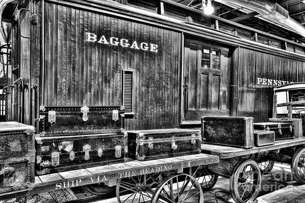 Photograph - Old Baggage  by Paul W Faust -  Impressions of Light