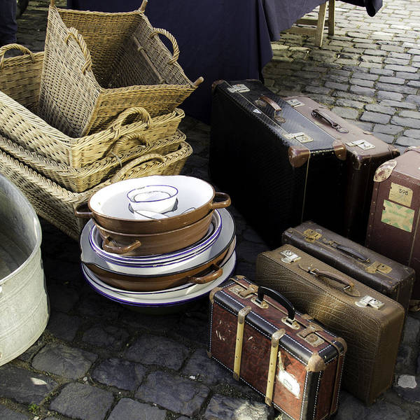Germania Photograph - Old Baggage by Teresa Mucha