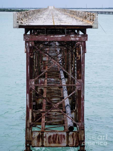 Wall Art - Photograph - Old Bahia Honda Bridge by Tracy Knauer