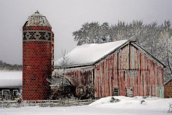 Rockville Photograph - Old Barn Art by Jodi Pflepsen