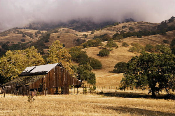 Ranch Photograph - Old Barn At Strathearn Ranch by Doug Steakley