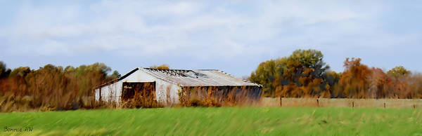 Photograph - Old Barn by Bonnie Willis