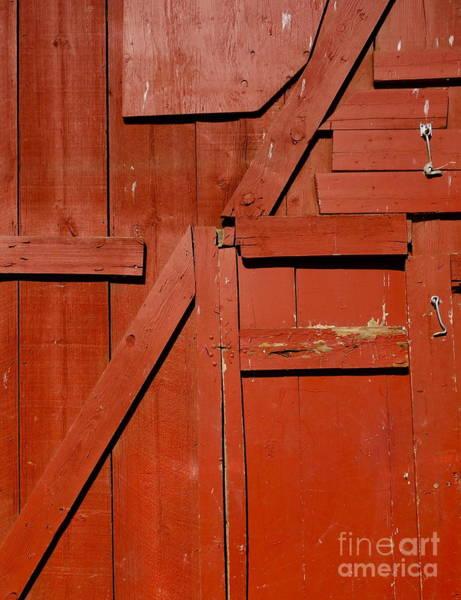Photograph - Old Barn Door 1 by Jacqueline Athmann