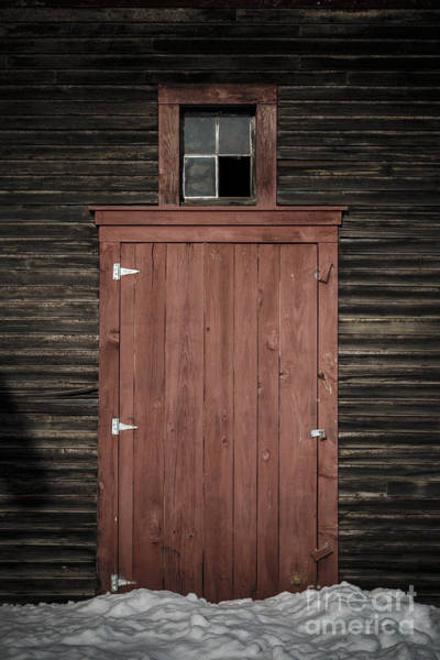 Wall Art - Photograph - Old Barn Door by Edward Fielding