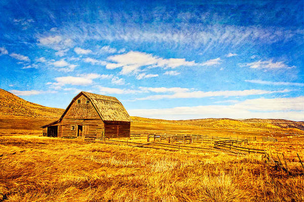 Photograph - Old Barn by Rick Wicker