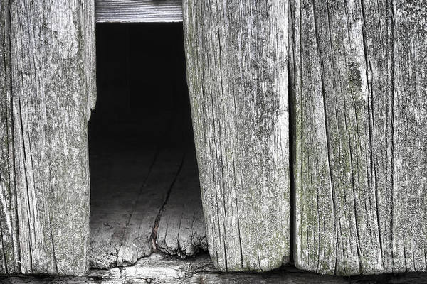 Missing Wall Art - Photograph - Old Barn Wall by Olivier Le Queinec