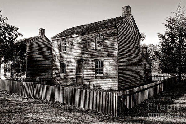 Wood Siding Wall Art - Photograph - Old Batsto by Olivier Le Queinec