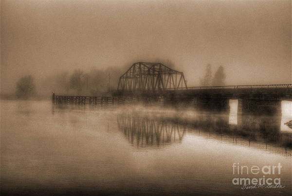 Old Berkley Dighton Bridge Art Print