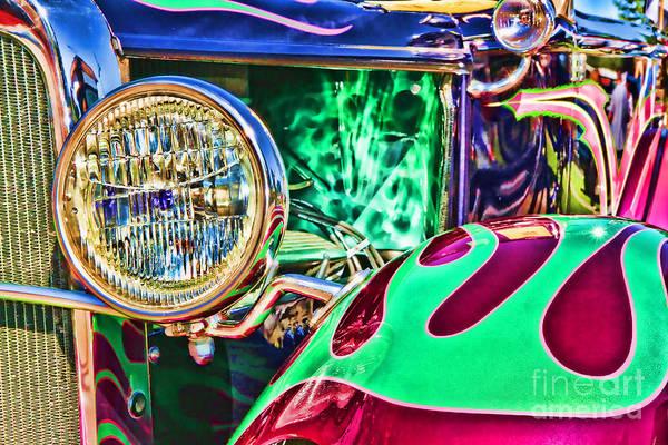 Photograph - Old Betty Ford Vintage Car By Diana Sainz by Diana Raquel Sainz