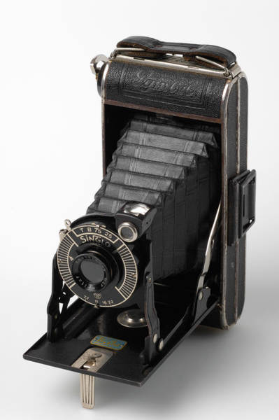 Photograph - Old Black Camera by Matthias Hauser