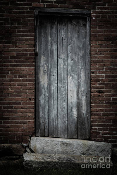 Photograph - Old Blacksmith Shop Door by Edward Fielding