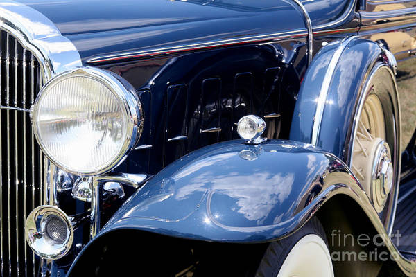 Meadowbrook Photograph - Old Blue by Rachel Reading