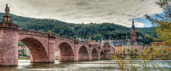 May Day Photograph - Old Bridge In Heidelberg by Karsten May