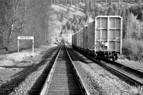 Old Bristol Rail In Ellensburg Art Print