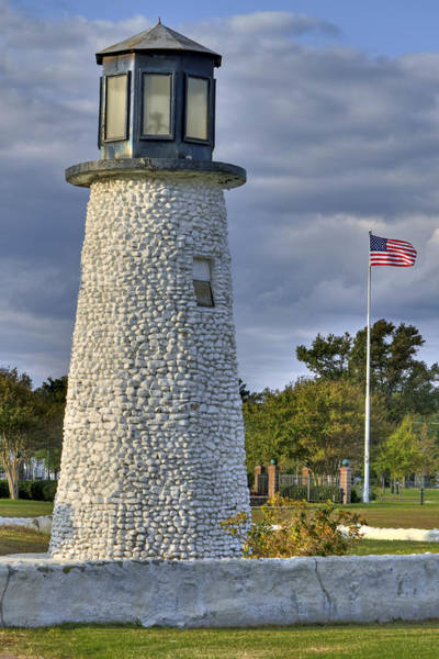 Photograph - Old Buckroe Lighthouse by Jerry Gammon
