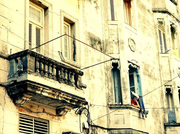 Wall Art - Photograph - Old Building Facade by Valentino Visentini