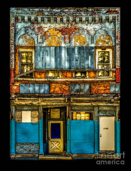 Photograph - Old Building Hicksville Ohio by Michael Arend