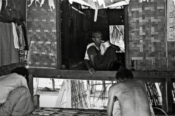 Photograph - Old Burmese Smoker Woman by RicardMN Photography