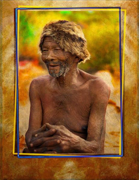 Photograph - Old Bushman by Mauro Celotti