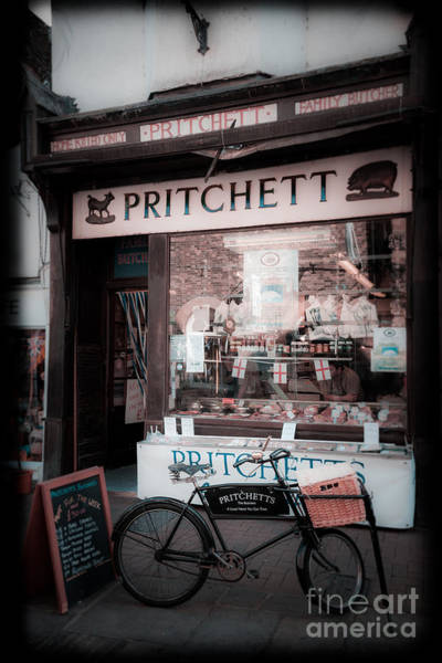 Photograph - Old Butchers Shop by Peter Noyce