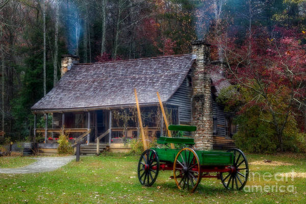 Photograph - Old Cabin by Deborah Scannell