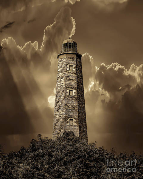Photograph - Old Cape Henry Lighthouse by Nick Zelinsky
