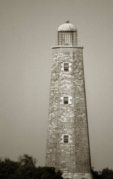 Scenic Byway Photograph - Old Cape Henry Lighthouse by Skip Willits