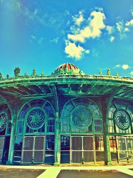 Photograph - Asbury Park Old Carousel House by Eleanor Abramson