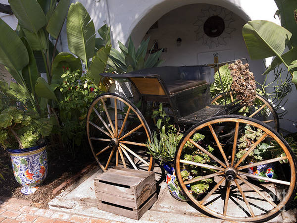 Photograph - Old Carriage by Brenda Kean