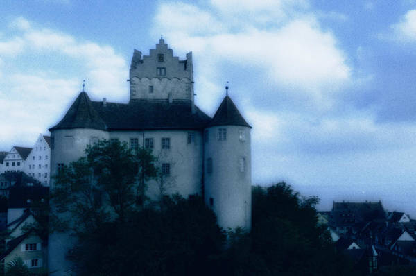 Photograph - Old Castle On A Hill In Blue Twilight by Matthias Hauser