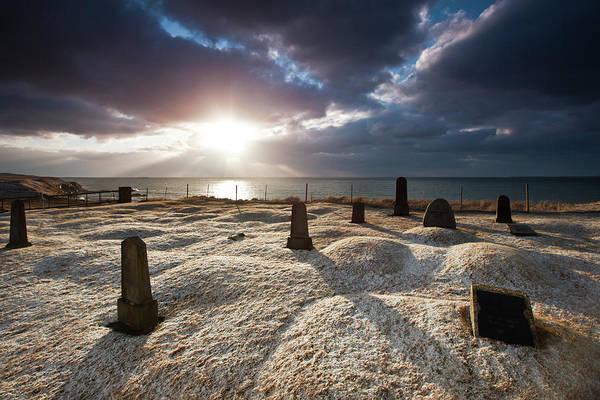 Reykjavik Photograph - Old Cemetery by Gudjon Otto Bjarnason